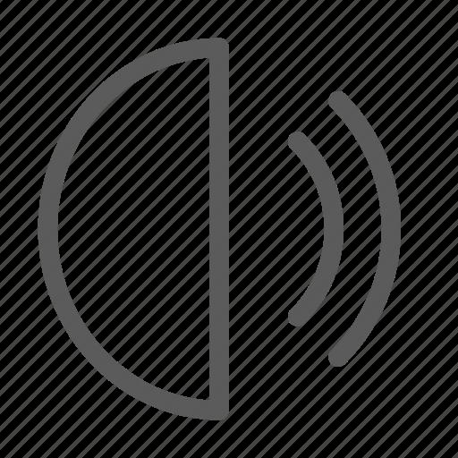 interaction, interface, speaker, technology, ui, user, volume icon
