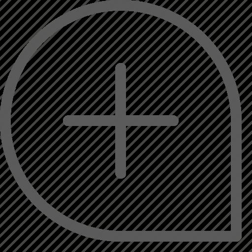 add, interaction, interface, technology, ui, user, window icon