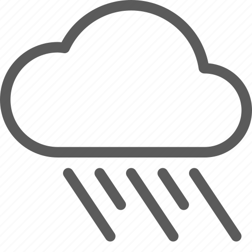 climate, cloud, forecast, meteorology, nature, rain, weather icon