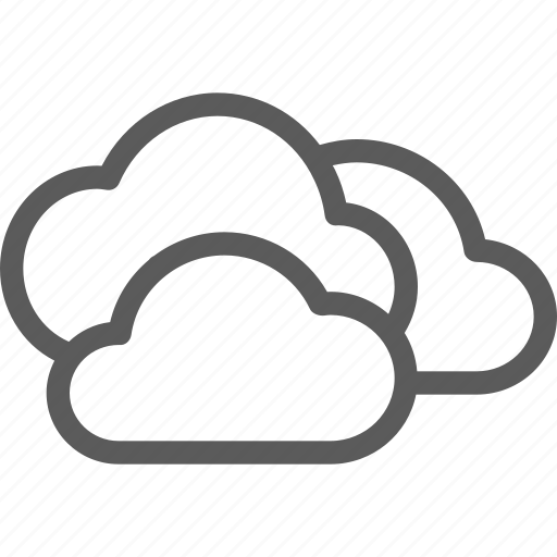 climate, cloudy, forecast, meteorology, nature, weather icon