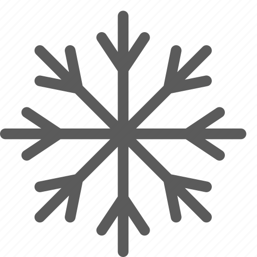 climate, forecast, meteorology, nature, snowflake, weather icon