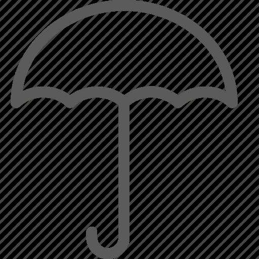 climate, forecast, meteorology, nature, umbrealla, weather icon