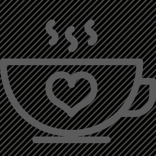 coffee, love, marriage, meeting, passion, valentine, wedding icon