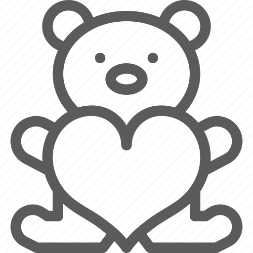 bear, love, lovely, marriage, passion, valentine, wedding icon
