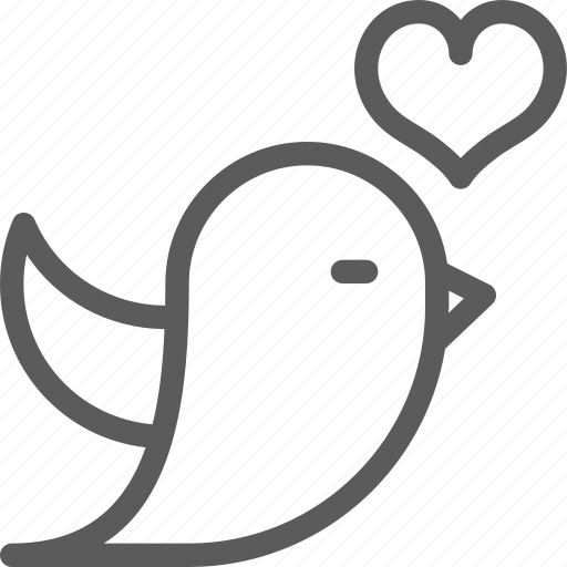 bird, love, lovely, marriage, passion, valentine, wedding icon