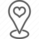 location, love, marriage, meeting, passion, valentine, wedding icon