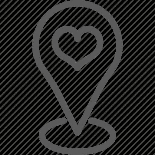 location, love, marriage, meeting, passion, valentine, wedding icon