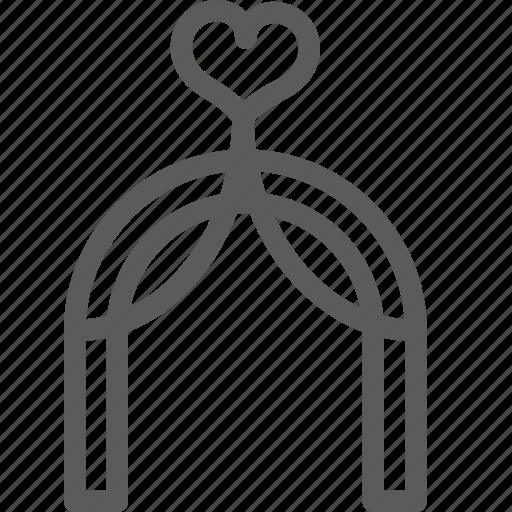 love, marriage, outdoor, passion, valentine, wedding icon