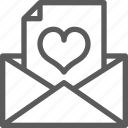 love, marriage, message, passion, read, wedding icon