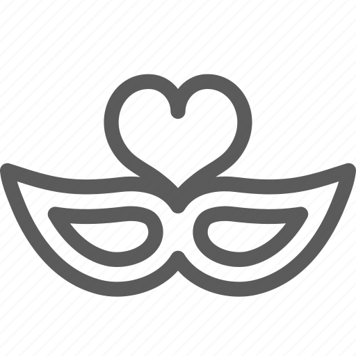 love, marriage, mask, passion, valentine, wedding icon