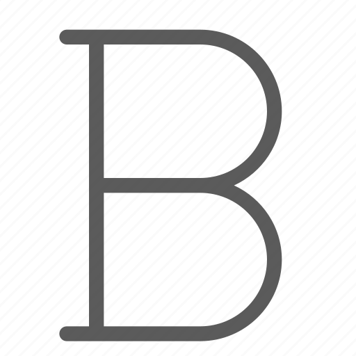alignment, bold, text, typing, word, writing icon