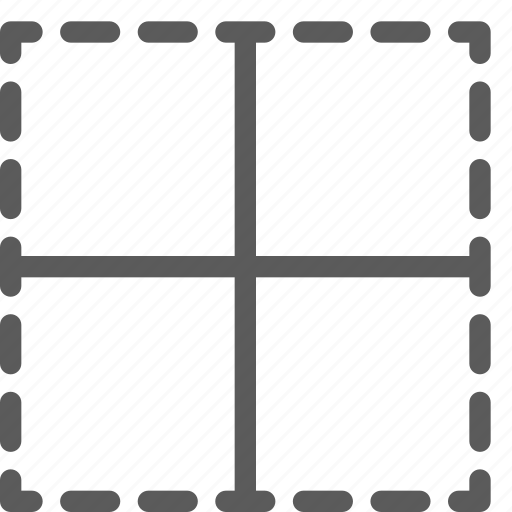 alignment, border, inside, text, typing, word, writing icon