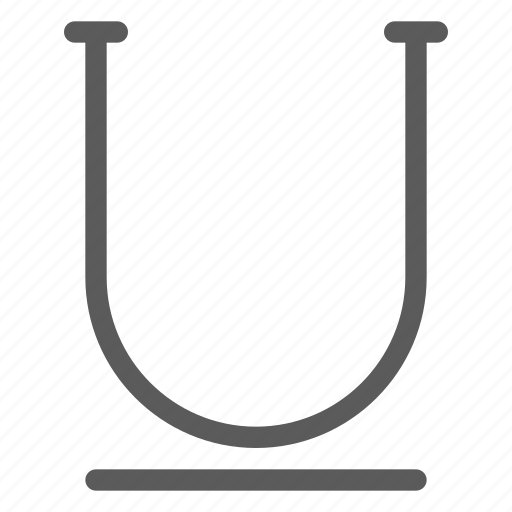 alignment, text, typing, underline, word, writing icon