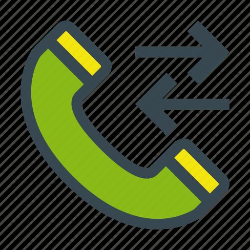 call, calls, history, phone, register icon