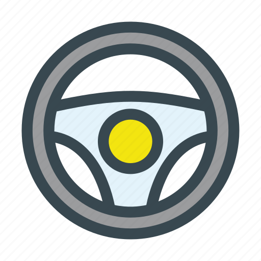 car, drive, driving, steering, wheel icon
