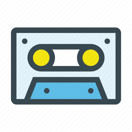 cassette, music, play, tape icon