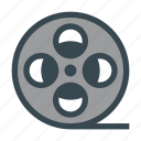 cine, cinema, film, movie, roll icon