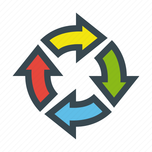 cycle, loop, recycle, reload, sync icon