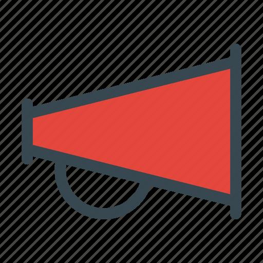 attention, louspeaker, marketing, megaphone icon