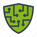 antivirus, internet, protection, security, shield icon