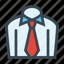 clothes, formal, necktie, office, shirt, tie icon