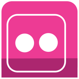 flickr, icons, media, sl, social icon