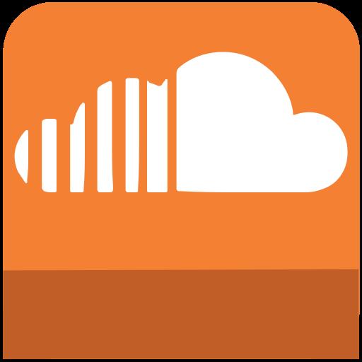 cloud, icons, media, sl, social, sound icon
