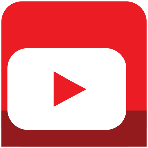 icons, media, sl, social, youtube icon