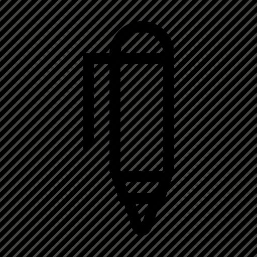 ballpoint, document, pen, write, writing icon
