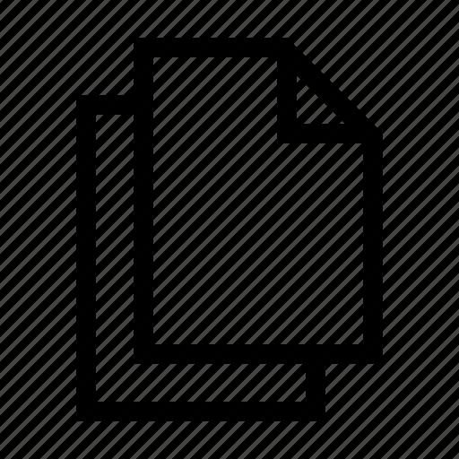 clone, copy, document, duplicate, files icon