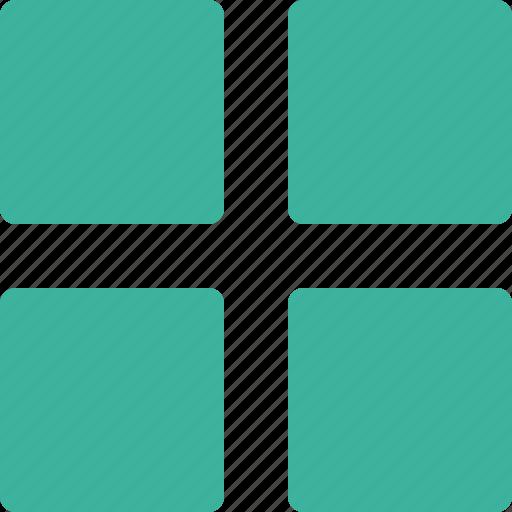 array, big, grid icon