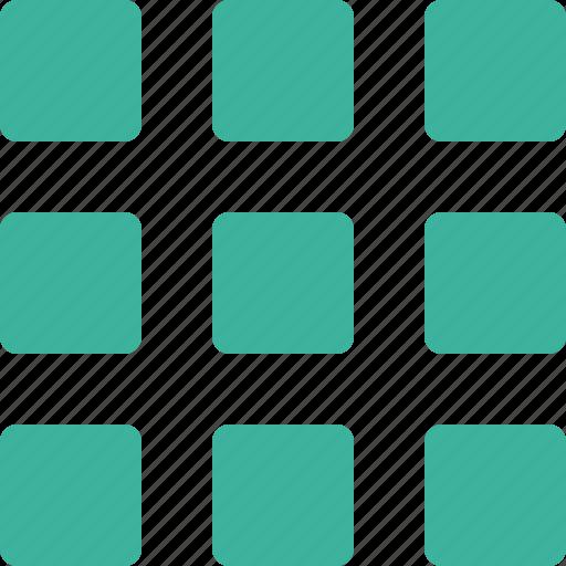 array, grid, smal icon