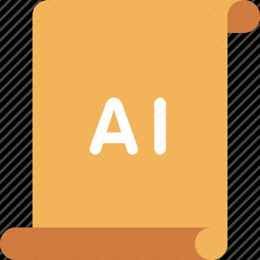 adobe, ai, illustrator icon