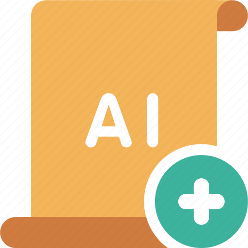 add, adobe, ai, illustrator, new, plus icon