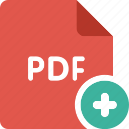 acrobat, add, adobe, document, new, pdf, plus icon