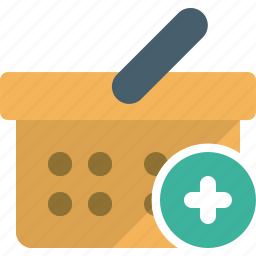 add, cart, ecommerce, new, plus, shopping icon