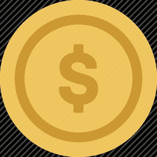 base, coin, fugue, gold, single icon