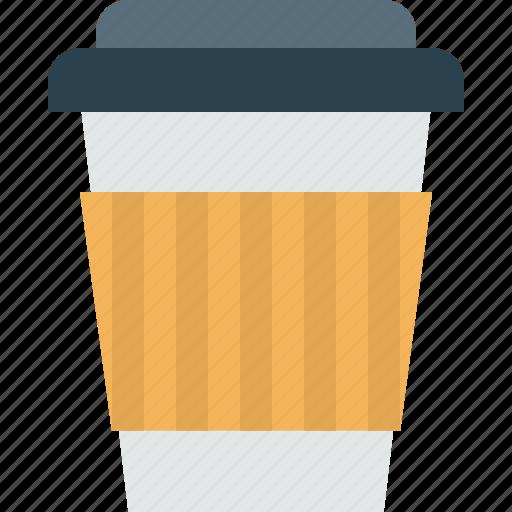 cappuchino, coffee, cup, espresso, hot drink, paper icon