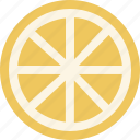 citrus, fruit, grapefruit, lemon, lime, orange, slice icon