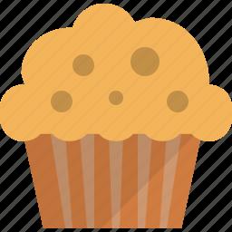 cake, chocolate, cupcake, dessert, food, muffin, sweet icon