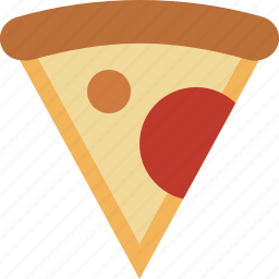 cheese, fast, food, pepperoni, pizza, slice, snack icon