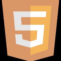 five, html, html5, logo icon