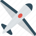 air, airplane, fly, flying, plane, transportation icon