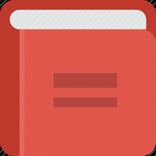book, bookmark, read icon