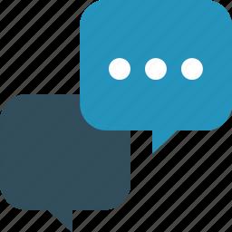 bubble, bubbles, chat, comment, communication, dialog, live chat, messages, references, speech, talk icon