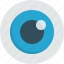 eye, look, optic, watch, see, view icon