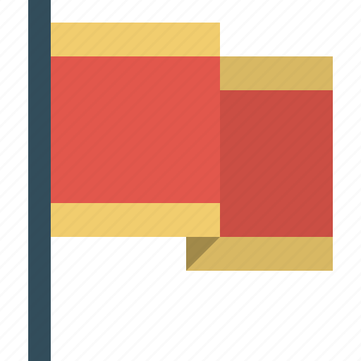 flag, map, nation, pin, placemarker, territory icon