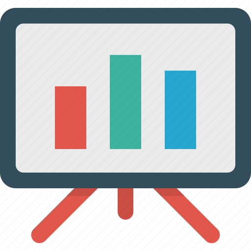 analytics, bars, chart, graph, presentation, statistic icon