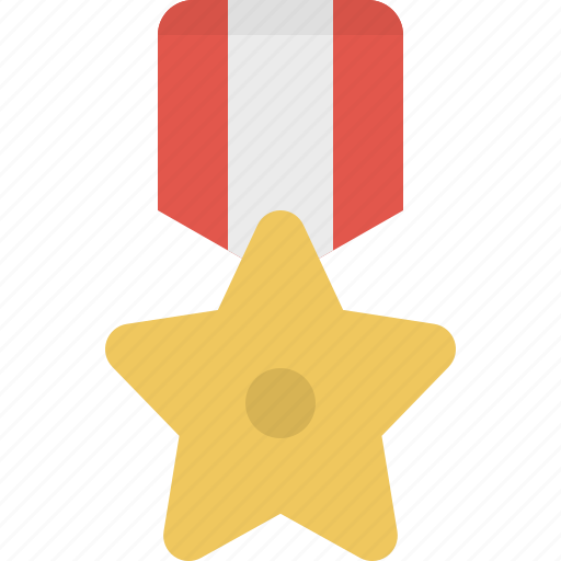 achievement, award, medal, prize, star, winner icon