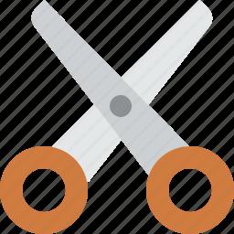 cut, edit, scissor, scissors, tool icon